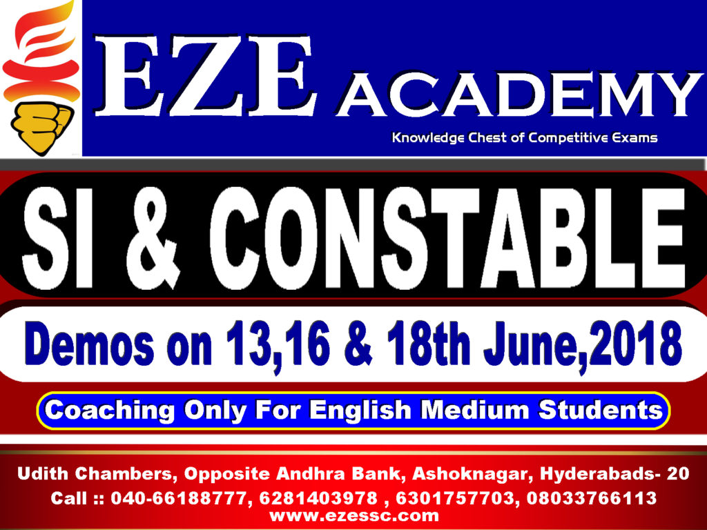 police coaching centers hyderabad