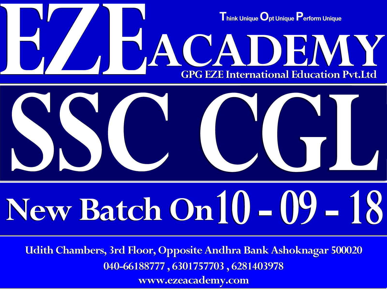 ssc cgl short term coaching