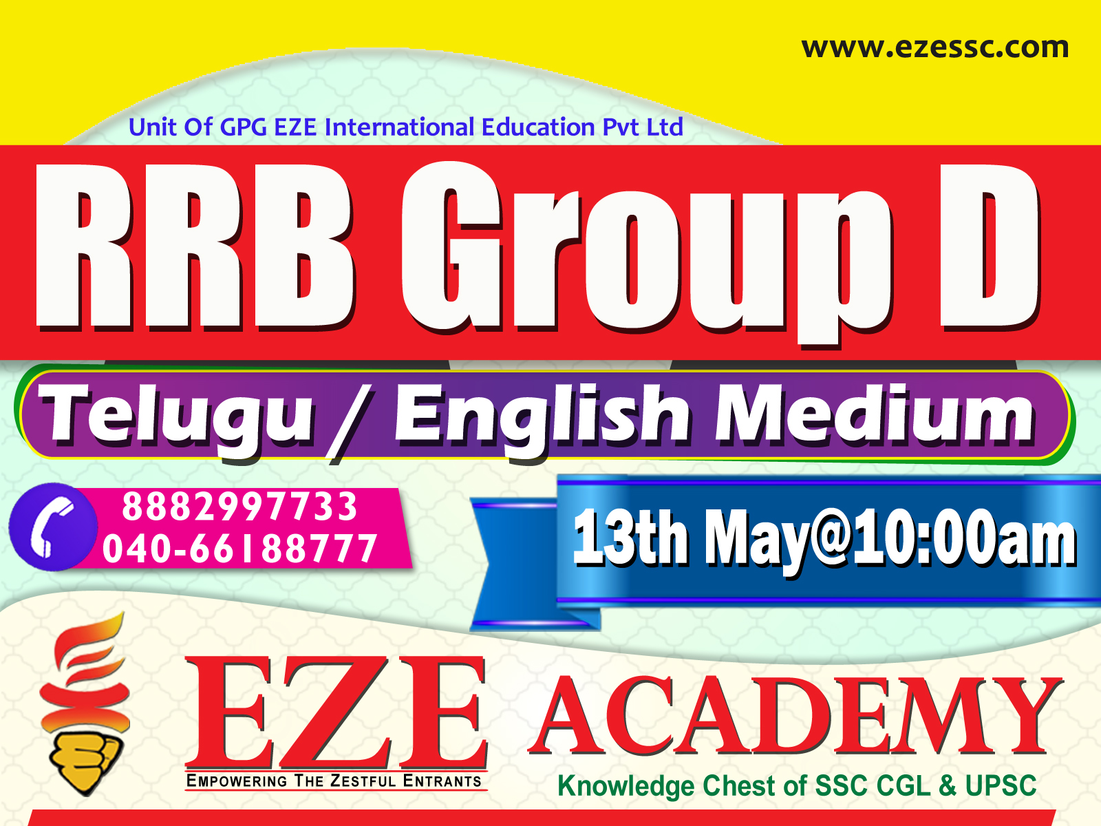 rrb group d coaching center in hyderabad