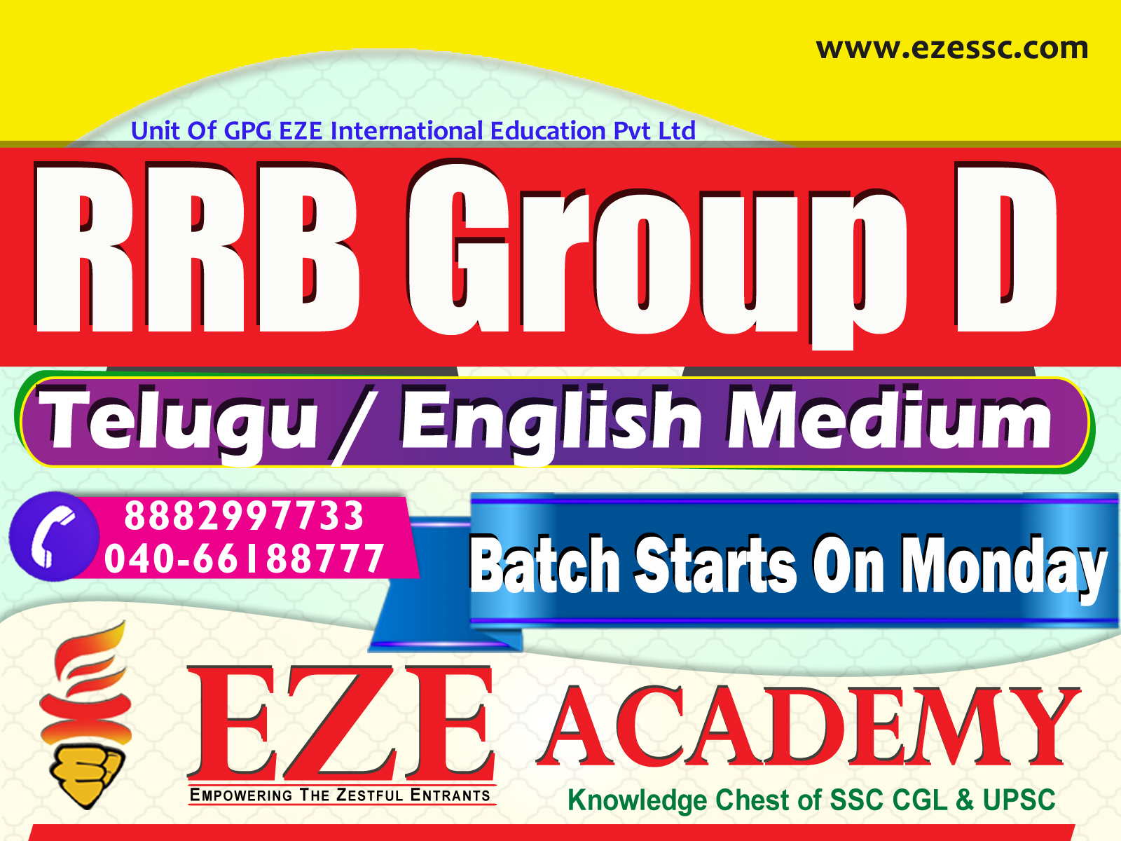 rrb group d coaching centers in hyderabad and secunderabad